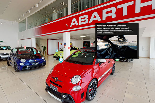 National Auto Launches Virtual Showroom for Fiat & Abarth